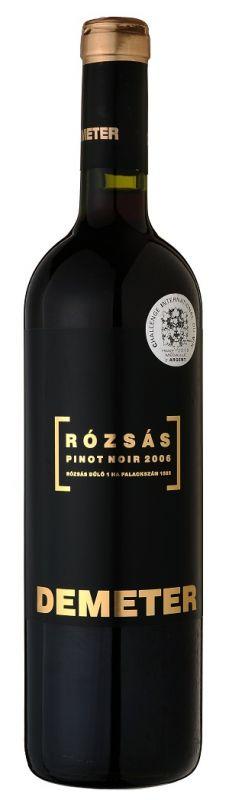 Demeter - Rózsás Pinot Noir 2006.