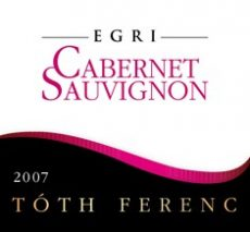 Tóth Ferenc - Egri Cabernet Sauvignon 2015